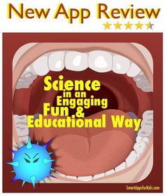 Review - Best simulation apps for kids: The Amazing Digestive Journey — travel through the digestive system http://www.smartappsforkids.com/2014/04/the-amazing-digestive-journey.html