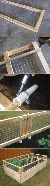 If you want to make the gate taller, you can certainly do so. To offer some level of protection against animals that are taller.  How to : F...