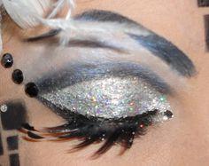 Black and White Checkered Masquerade Make Up Tutorial » Krystaal Rain -