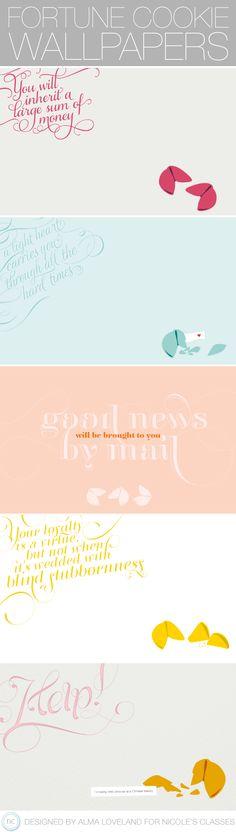 Fortune Cookie Desktop Wallpapers | Nicoles Classes