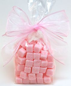 Rose Petal Flavored Sugar Cubes for Tea Parties Champagne by trio3