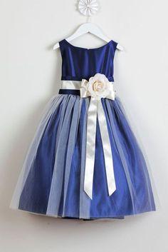 Vestidos de fiesta para nina color azul rey