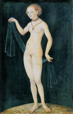 ルーカス・クラナッハ(父)『ヴィーナス』(1532) Lucas Cranash (Ä) - Venus  #北方ルネッサンス