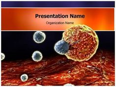 Make A Great Looking Ppt Presentation Quickly And Affordably With Our Professional Cancer Cells Point Template This Has