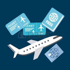 40974944-비행기-여행-디자인,-벡터-일러스트-레이-션.jpg (450×450)