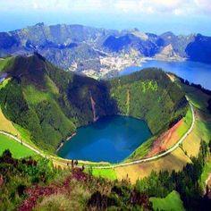 São Miguel Island, Azores, Portugal Amazing World