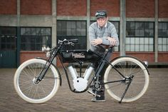 Electric Harley Davidson 1910 NL.  One of the nicest builds I have seen
