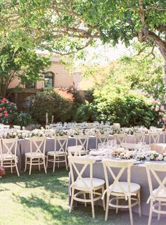 Pretty spring reception: http://www.stylemepretty.com/little-black-book-blog/2016/04/18/family-florals-make-this-napa-valley-wedding-a-winner/ | Photography: Hannah Suh - http://www.hannahsuh.com/