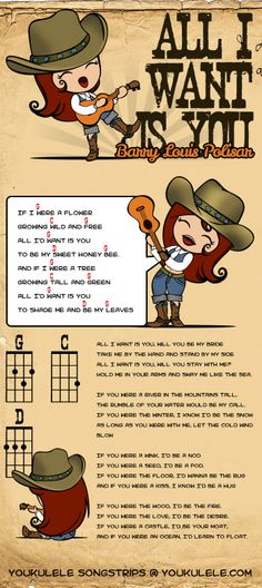 All I Want Is You #ukulelechords #songstrips