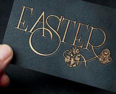 """842 Likes, 15 Comments - @heypenman on Instagram: """"More Easter lettering."""""""