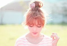 Find images and videos about girl, fashion and cute on We Heart It - the app to get lost in what you love. Pony Makeup, Hair Makeup, Princess Hairstyles, Cute Hairstyles, Cute Hair Colors, Cute Japanese, Japanese Style, Cute Asian Fashion, Tousled Hair