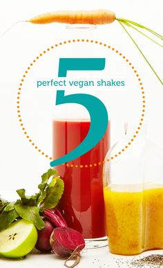 5 of the best vegan shakes