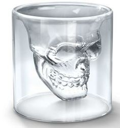 Only $7.15, Crystal Skull Shotglass, check it out on What to buy dad for Christmas with great gift ideas for men http://www.whattobuydadforchristmas.com with Gift ideas for under ten dollars as well as fun, interesting, but gifts dad will use from ten dollars to a hundred dollars and all available to click through and buy easily on Amazon.