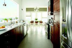 Gorgeous Galley Kitchen #DreamBook