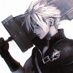 Tagged with final fantasy vii, cloud strife, ffvii, final fantasy Shared by theofficialpentacorn. Final Fantasy Cloud, Final Fantasy Vii Remake, Fantasy Series, Kuvshinov Ilya, Got Anime, Anime Art, Cloud Drawing, Cloud And Tifa, Final Fantasy Characters