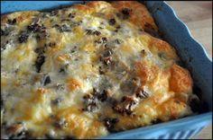 Breakfast Casserole - the husband will love.