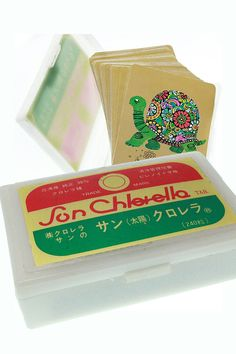 Vintage Turtle Playing Cards, in Japanese Case - ARRCO Standard Deck of Cards…