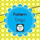 Pattern cards to be used with colored tiles.  A simple center idea for your students to practice AB, ABB, and ABC patterns.  Cut into strips and la...