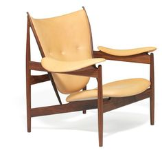 Finn Juhl Chieftain Chair by Niels Roth Andersen. Sold at Bruun-Rasmussen 130,000DKK