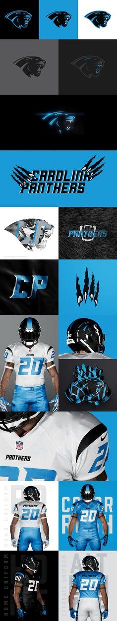 Carolina Panthers Rebrand Concept by Brandon Williams