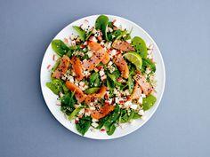 Nyd en sprød og lækker spinatsalat med god samvittiighed og 250 kalorier.