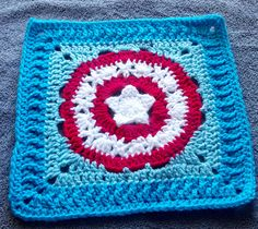 Ravelry: Patriots Pride 12 inch square pattern by April Moreland