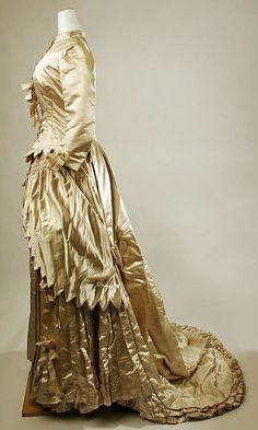 Wedding Dress, Met Museum, 1879