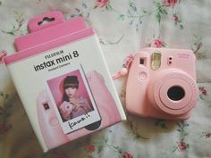 Instax Mini 8 Pink-You have no idea how long I've wanted one of these!!!!!!