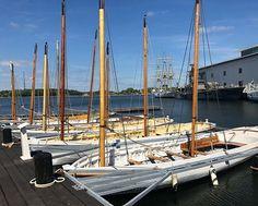 Was hoping to sail one of these beauties today but no :( No sailing today. #sadface #nosailing #bark #barque #marinmuseum #stumholmen #karlskrona #visitkarlskrona #sweden #visitsweden #photobydavidfeldt