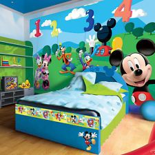 Disney Mickey Mouse and Friends Numbers Photo Wallpaper Wall Mural (CN-4-029VE)