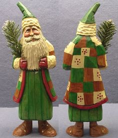 Carved Santa 15-37 by Woodbuster #FiguresStatues