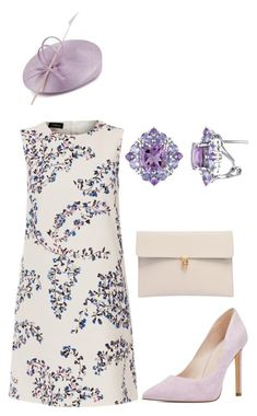 """""""Untitled #617"""" by lovelifesdreams on Polyvore featuring Whiteley, Les Copains, Nine West and Alexander McQueen"""