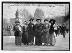 In 1913, Women Marched on Washington. This Month, They March Again