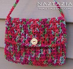Crochet Noro Daria Purse