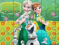 quebra-cabeça-personalizado-gratuito Fun Math Games, Activity Games, Diy And Crafts, Crafts For Kids, Arts And Crafts, Festa Frozen Fever, English Activities, Ice Sculptures, Puzzle