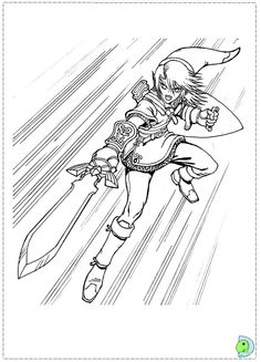 84 Best Lineart Zelda Link Images In 2019 Coloring