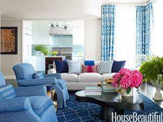 Living Room / Amanda Nisbet  / House Beautiful
