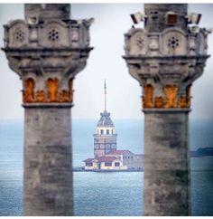 Kız Kulesi.İstanbul-Türkiye