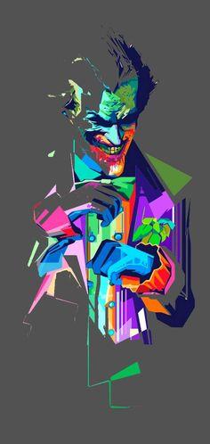 Joker color wallpaper by Kingyunus - 5d30 - Free on ZEDGE™