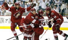 Phoenix Coyotes Hockey Game
