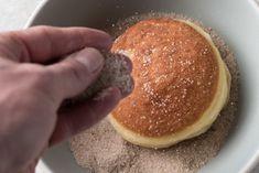Naturally Leavened Bomboloni (Doughnuts) | The Perfect Loaf Sourdough Doughnut Recipe, Sourdough Recipes, Donut Recipes, Cooking Recipes, Beignets, Fritters, Doughnuts, Cookies, Baking
