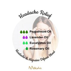 Homemade Essential Oils, Essential Oils Guide, Essential Oil Scents, Essential Oil Diffuser Blends, Organic Essential Oils, Oil For Headache, Headache Relief, Oil Quote, Essential Oil Combinations