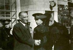 At the Ankara train station 1938