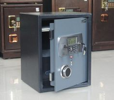 Electronic LCD lock safe deposit box for home/office/hotel Safe Deposit Box, Safe Lock, Home Office, Locker Storage, Furniture, Gift, Shop, Home Decor