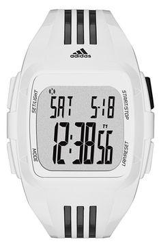 adidas Performance adidas Originals 'Duramo XL' Digital Watch, 50mm available at #Nordstrom