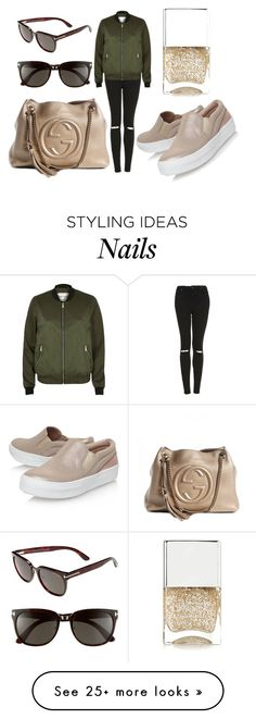 """""""Untitled #627"""" by hayley8974 on Polyvore featuring Topshop, River Island, Miss KG, Gucci, Tom Ford and Nails Inc."""
