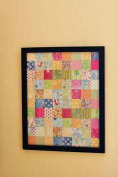 paper patchwork quilt