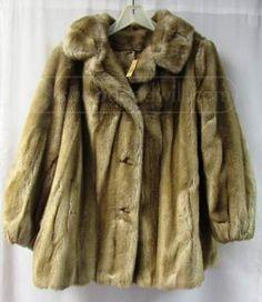 shopgoodwill.com: Hillmoor by Tissavel France Faux Fur Coat SZ 20.5