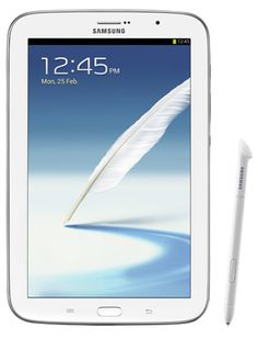 The Samsung Galaxy Note White Android Phone Is An Tablet By With S Pen Functionality