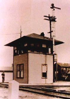Railroad Interlocking Tower 3 in Flatonia, Texas